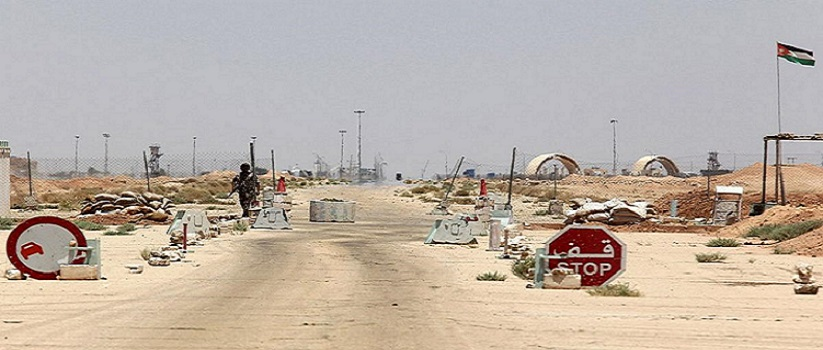 A Jordanian soldier on a military vehicle walks securing an area near the Al-Karameh border point with Iraq on June 25, 2014 as Jordan reinforced its border with Iraq after Sunni Arab militants overran a crossing with Syria. Sunni insurgents led by the jihadist Islamic State of Iraq and the Levant (ISIL) overran swathes of land north and west of Baghdad this month sparking fears in Amman that they will take the fight to Jordan, which is already struggling with its own home-grown Islamists.    AFP PHOTO/STR        (Photo credit should read -/AFP/Getty Images)